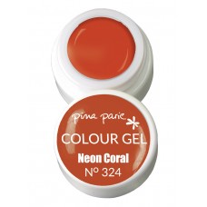 1-25324 Neon Coral, UV-LED gel colour, 5gr