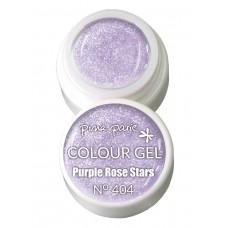 1-25404 Purple Rose Stars, UV-LED gel colour, 5gr