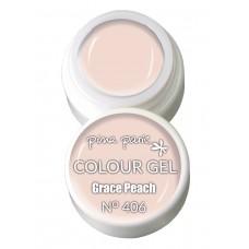 1-25406 Grace Peach, UV-LED gel colour, 5gr
