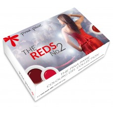 S2-281 The Reds 2, set van 4 gel colours, 5gr