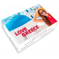 S2-295 Love Greece , set van 4 gel colours, 5gr