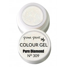 1-25309 Pure Diamond, (transparant) UV-LED gel colour, 5gr