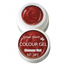 1-25391 Glamour Red UV-LED gel colour, 5gr