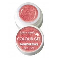 1-25373 Neon Pink Stars, UV-LED gel colour, 5gr