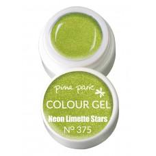 1-25375 Neon Limette Stars, UV-LED gel colour, 5gr
