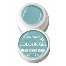 1-25376 Neon Ocean Stars, UV-LED gel colour, 5gr