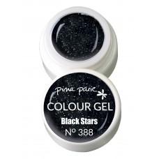 1-25388 Black stars, UV-LED gel colour, 5gr