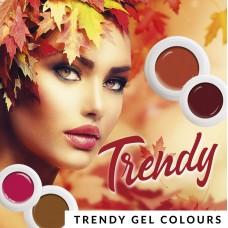 S2-278 Trendy, set van 4 gel colours, 5gr