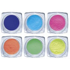 14-001 Nail-art Powder Set Summer, 6 x 2gr