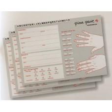 50-010 klanten kaart 25st. Duitstalig