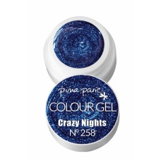 1-25258 Crazy Nights, UV-LED gel colour, 5gr - Colour