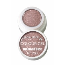 1-25260 Diamond Dust, UV-LED gel colour, 5gr - Colour