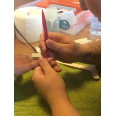 Gellak/gelcolour nagels opleiding; privéles