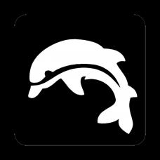 Sjabloon dolfijn