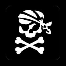 Sjabloon Piraat
